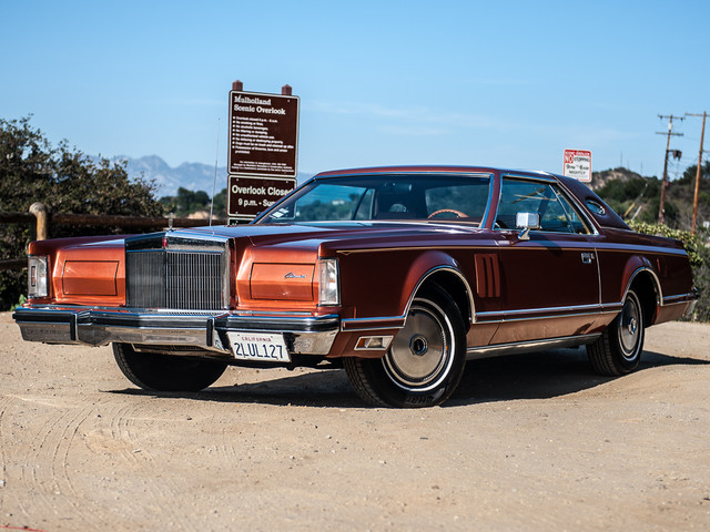 1977 Lincoln Continental Mark V Cartier Edition Studio City, California 0
