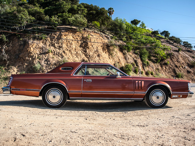 1977 Lincoln Continental Mark V Cartier Edition Studio City, California 1