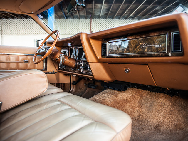 1977 Lincoln Continental Mark V Cartier Edition Studio City, California 17