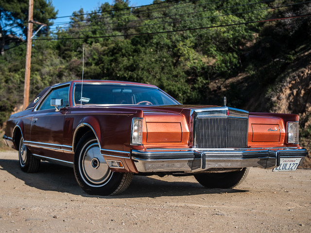 1977 Lincoln Continental Mark V Cartier Edition Studio City, California 2