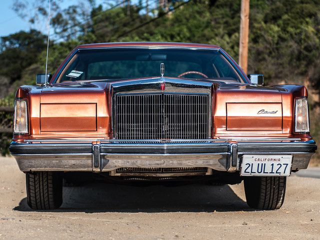 1977 Lincoln Continental Mark V Cartier Edition Studio City, California 3