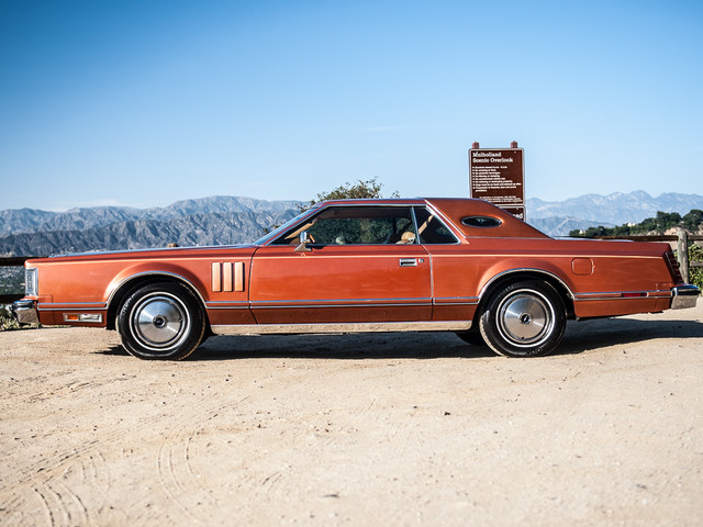 1977 Lincoln Continental Mark V Cartier Edition Studio City, California 7