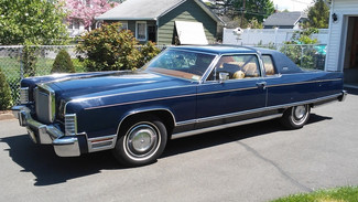 1977 Lincoln Continental Town Coupe East Haven, CT 1