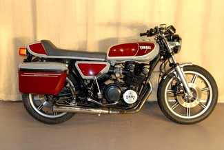 1977 Yamaha XS750 CAFE BAGGER MOTORCYCLE MADE TO ORDER Mendham, New Jersey