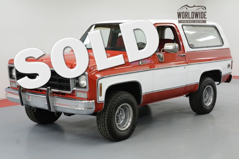 1978 Chevrolet BLAZER K5 4X4 RESTORED CONVERTIBLE PS PB | Denver, CO | Worldwide Vintage Autos