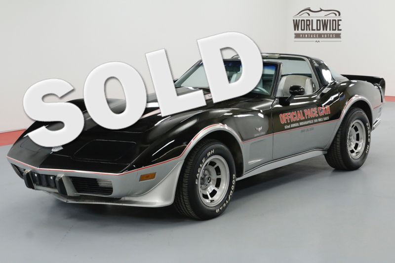 1978 Chevrolet CORVETTE PACE CAR 52K MILES COLLECTOR GRADE RARE AC! | Denver, CO | Worldwide Vintage Autos