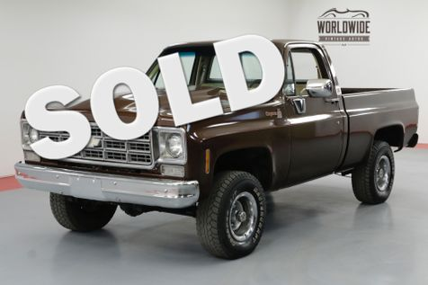 1978 Chevrolet K10 4X4. 6.0 LS! SHORT BED. PS. PB. | Denver, CO | Worldwide Vintage Autos in Denver, CO