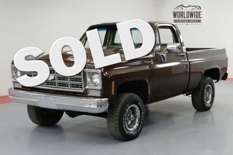 1978 Chevrolet K10 4X4. 6.0 LS! SHORT BED. PS. PB. | Denver, CO | Worldwide Vintage Autos