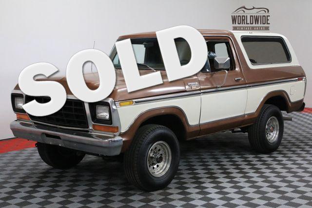 1978 Ford BRONCO RANGER XLT RARE SECOND GENERATION | Denver, Colorado | Worldwide Vintage Autos