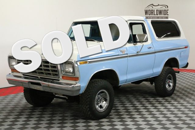 1978 Ford BRONCO RANGER XLT. RARE SECOND GENERATION! AC! | Denver, CO | WORLDWIDE VINTAGE AUTOS