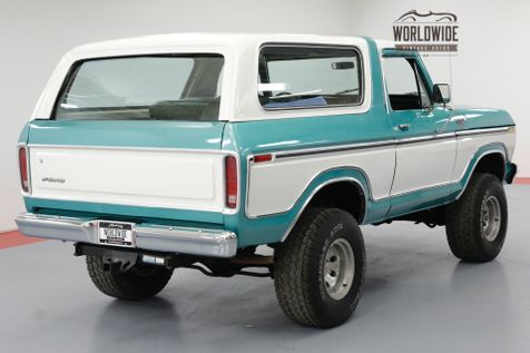 1978 Ford BRONCO RARE TWO YEAR ONLY BIG BODY 4X4 FACTORY AC | Denver, CO | Worldwide Vintage Autos in Denver, CO
