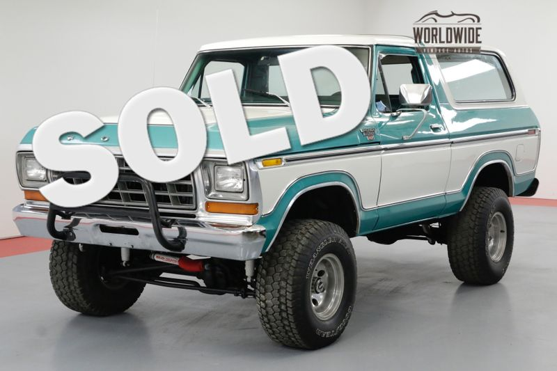 1978 Ford BRONCO RARE TWO YEAR ONLY BIG BODY 4X4 FACTORY AC | Denver, CO | Worldwide Vintage Autos
