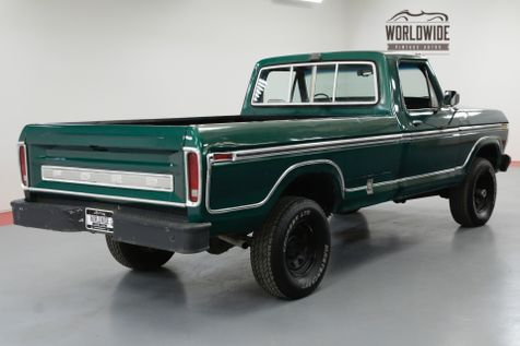 1978 Ford F-150 VINTAGE 4X4 V8 DUAL TANK PS PB AC | Denver, CO | Worldwide Vintage Autos in Denver, CO