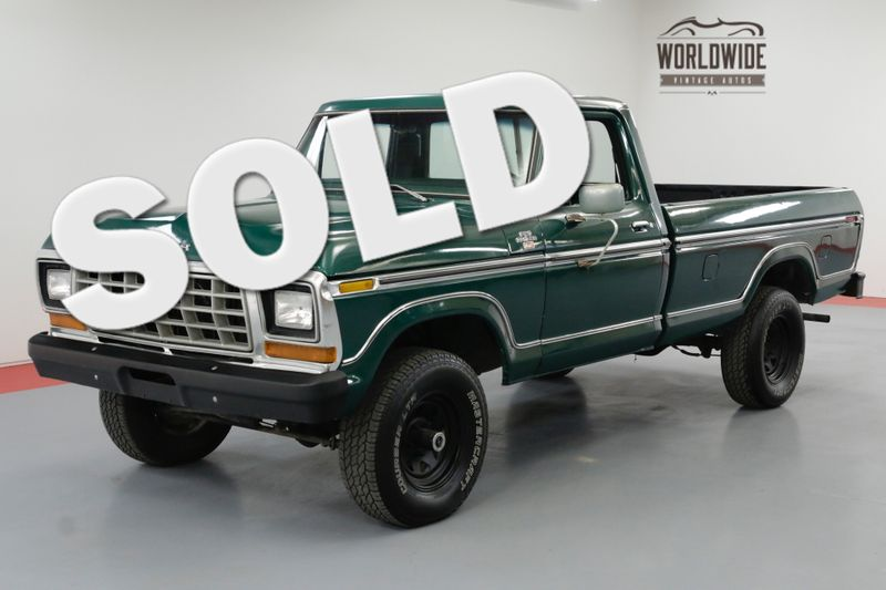 1978 Ford F-150 VINTAGE 4X4 V8 DUAL TANK PS PB AC | Denver, CO | Worldwide Vintage Autos