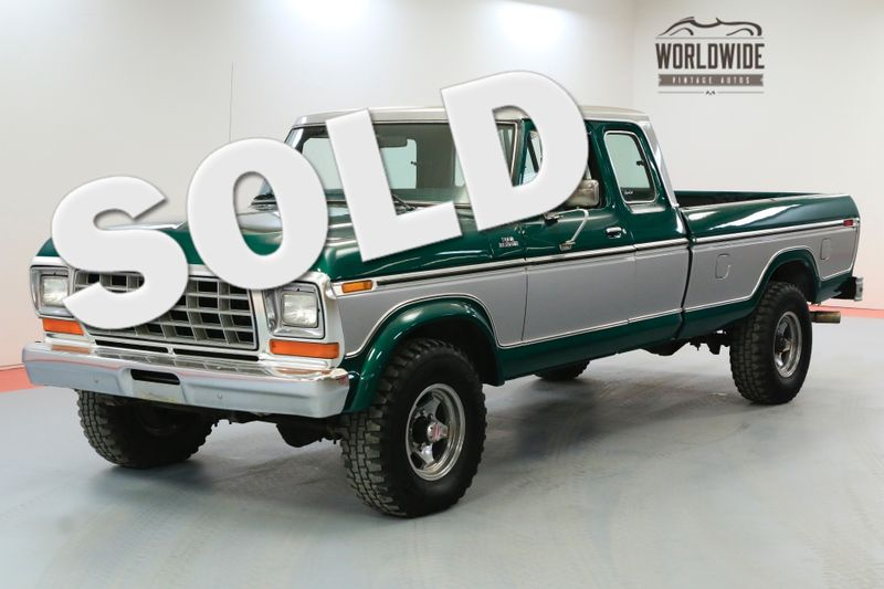 1978 Ford F250 RANGER HIGH BOY 4X4 RARE EXTENDED CAB | Denver, CO | Worldwide Vintage Autos