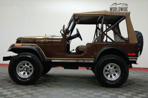 1978 Jeep CJ5  GOLDEN EAGLE. FRAME OFF RESTORED! V8! | Denver, CO | WORLDWIDE VINTAGE AUTOS in Denver, CO