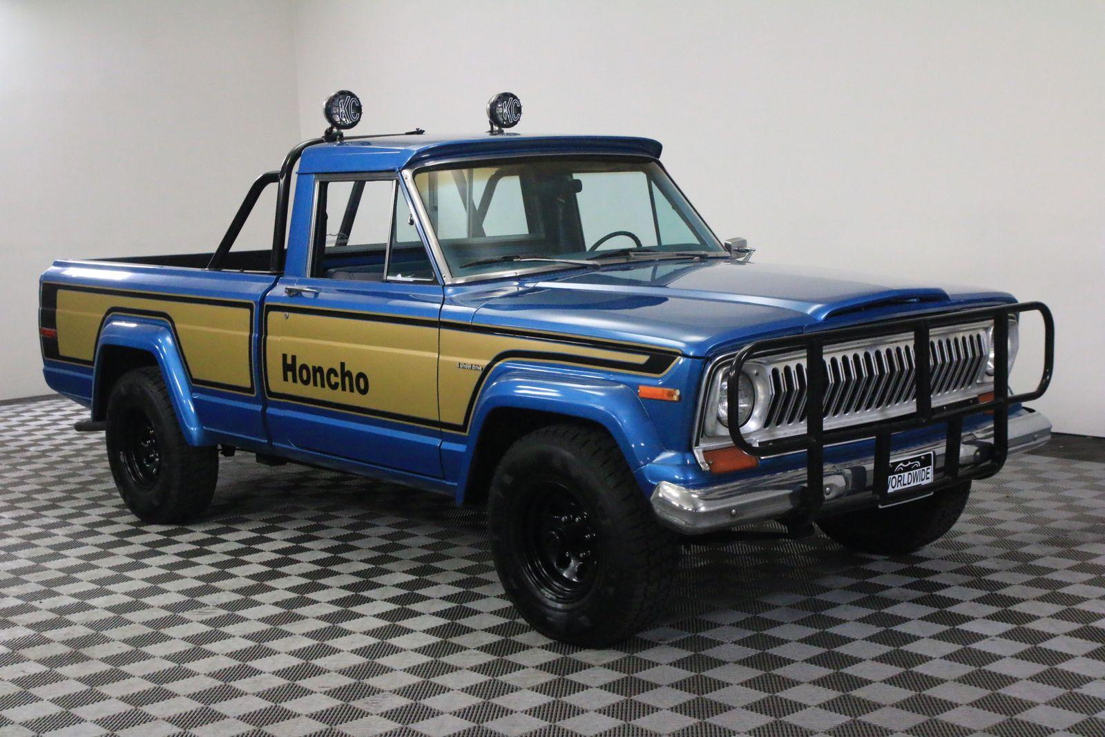 1978 Blue Honcho Gladiator Restored Rare Used Jeep J10