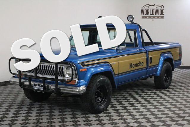 1978 Jeep J10 HONCHO GLADIATOR RESTORED RARE | Denver, Colorado | Worldwide Vintage Autos