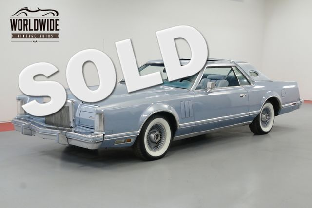 1978 Lincoln Mark V Continental Diamond Jubilee Denver Co