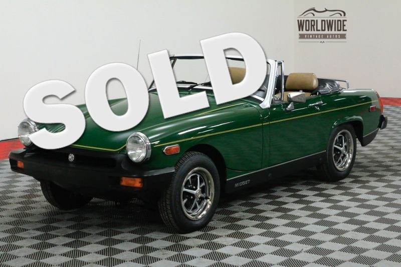Sexy bushes! Buying a mg midget altes