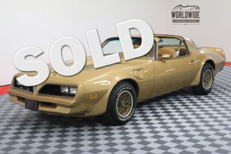 1978 Pontiac TRANS AM SOLAR GOLD T-TOPS FACTORY A/C WINDOW STICKER | Denver, CO | WORLDWIDE VINTAGE AUTOS in Denver CO