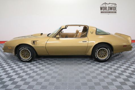1978 Pontiac TRANS AM SOLAR GOLD T-TOPS FACTORY A/C WINDOW STICKER | Denver, CO | Worldwide Vintage Autos in Denver, CO