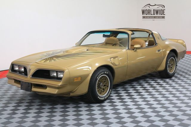 1978 Pontiac TRANS AM SOLAR GOLD T-TOPS FACTORY A/C WINDOW STICKER | Denver, Colorado | Worldwide Vintage Autos