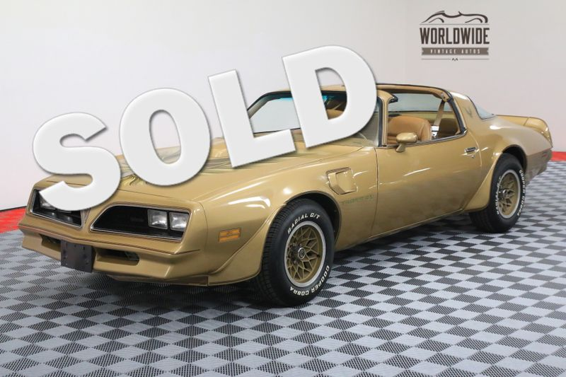 1978 Pontiac TRANS AM SOLAR GOLD T-TOPS FACTORY A/C WINDOW STICKER | Denver, CO | Worldwide Vintage Autos