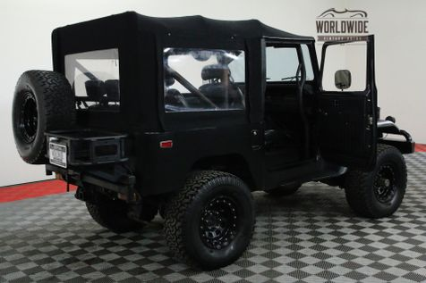 1978 Toyota FJ40  CUSTOM TRIPLE BLACK FULL SOFT TOP | Denver, CO | Worldwide Vintage Autos in Denver, CO