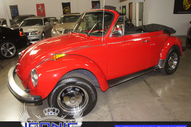 This 1978 Volkswagen Beetle Convertible is a Iconic Motors Featured Car