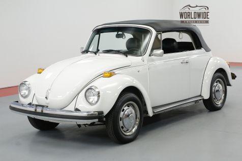 1978 Volkswagen BUG CONVERTIBLE 10K MILES LATE PRODUCTION   Denver, CO   Worldwide Vintage Autos in Denver, CO