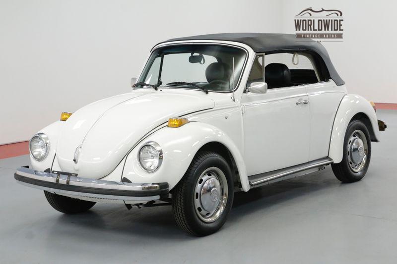 1978 Volkswagen BUG CONVERTIBLE 10K MILES LATE PRODUCTION   Denver, CO   Worldwide Vintage Autos