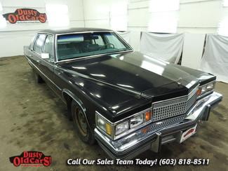 1979 Cadillac Deville Runs Drives 7.0L V8 Body Int Fair Needs TLC in Nashua NH