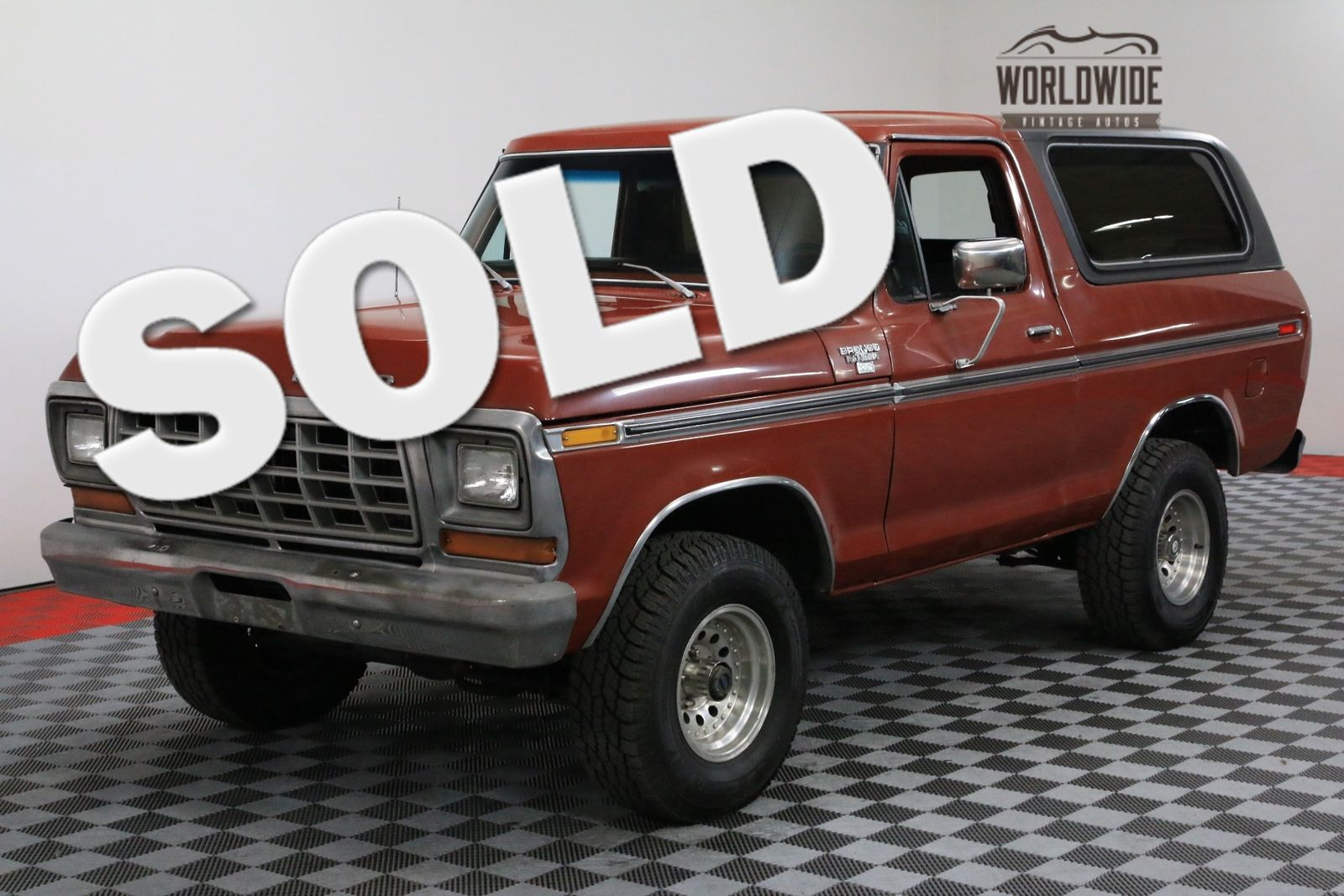 1979 Ford Bronco RANGER XLT RESTORED 4X4 AC V8 CONVERTIBLE ...