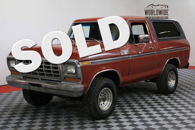 1979 Ford BRONCO RANGER XLT RESTORED 4X4 AC V8 CONVERTIBLE | Denver, Colorado | Worldwide Vintage Autos