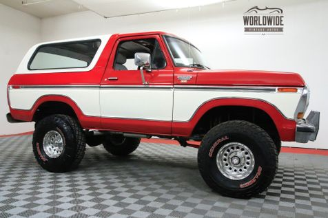 1979 Ford BRONCO RESTORED BIG BLOCK 429 V8 AUTO COLLECTOR 4X4 | Denver, CO | Worldwide Vintage Autos in Denver, CO