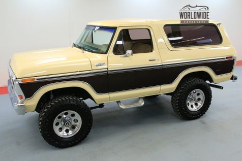 1979 Ford BRONCO  FULL SIZE ENGINE 4 SPEED MANUAL | Denver, CO | Worldwide Vintage Autos in Denver, CO