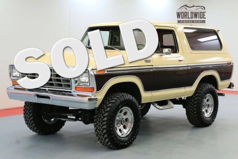 1979 Ford BRONCO  FULL SIZE ENGINE 4 SPEED MANUAL | Denver, CO | Worldwide Vintage Autos