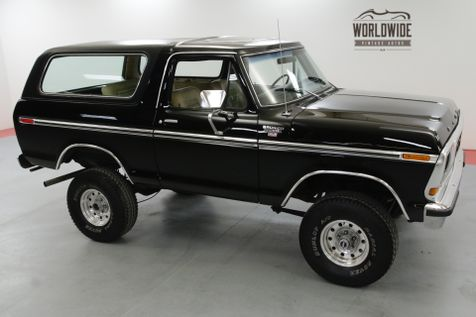 1979 Ford BRONCO RARE SECOND GENERATION CONVERTIBLE | Denver, CO | Worldwide Vintage Autos in Denver, CO