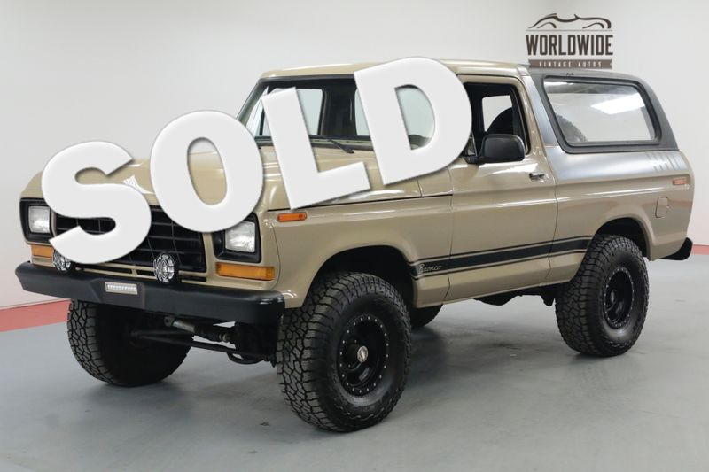 1979 Ford BRONCO RESTORED CONVERTIBLE REBUILT 400 V8 RARE   Denver, CO   Worldwide Vintage Autos
