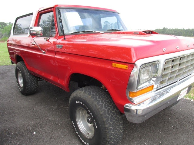1979 Ford Bronco HARD TOP