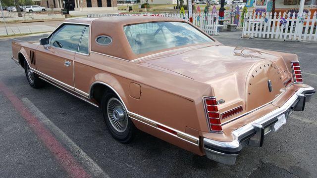 1979 Lincoln MARK V 2 DR Arlington, Texas 0