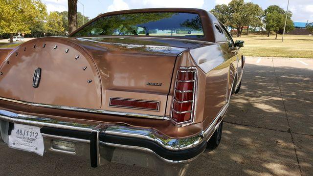 1979 Lincoln MARK V 2 DR Arlington, Texas 39