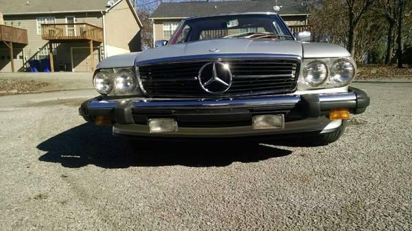 1979 mercedes benz 450sl knoxville tn john shipman for Mercedes benz of knoxville tn