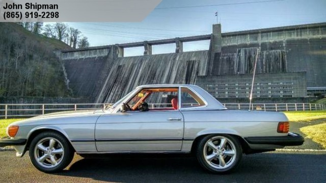1979 mercedes benz 450sl knoxville tn john shipman for Knoxville mercedes benz