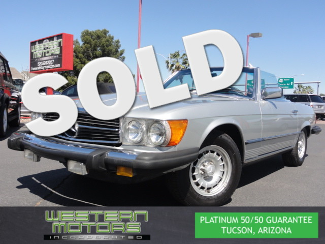This 1979 Mercedes-Benz 450SL Roadster is a Western Motors Featured Car