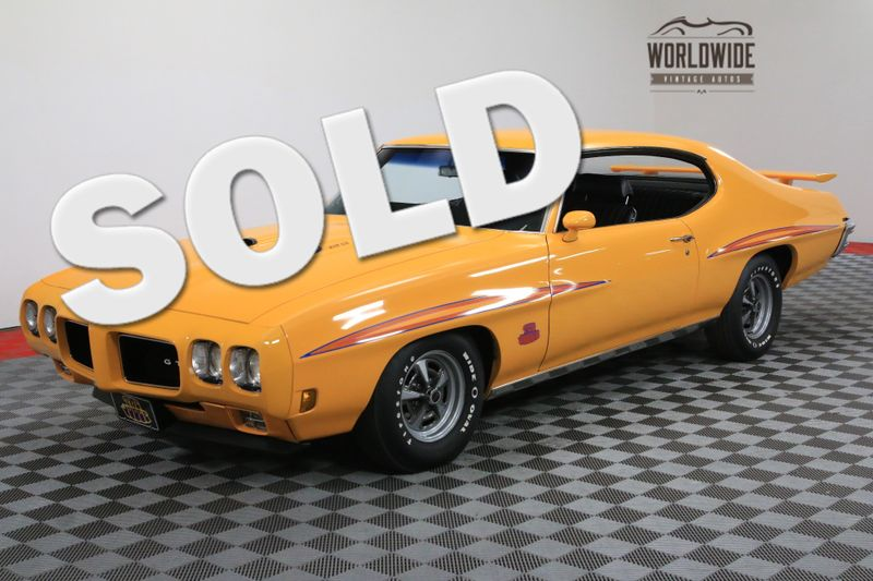 1970 Pontiac GTO JUDGE ORBIT ORANGE 4 SPEED   Denver, CO   WORLDWIDE VINTAGE AUTOS