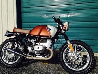 1980 BMW R65 CUSTOM SCRAMBLER MOTORCYCLE Cocoa, Florida 11