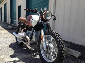 1980 BMW R65 CUSTOM SCRAMBLER MOTORCYCLE Cocoa, Florida 12