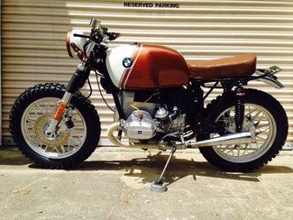1980 BMW R65 CUSTOM SCRAMBLER MOTORCYCLE Cocoa, Florida 1